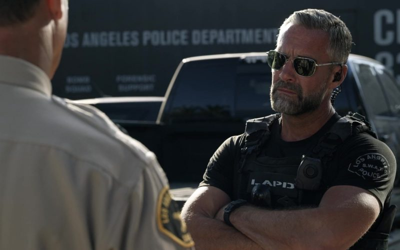 Randolph Sunglasses Worn by Jay Harrington as Sergeant II David Kay or Deacon in S.W.A.T. Season 3 Episode 8