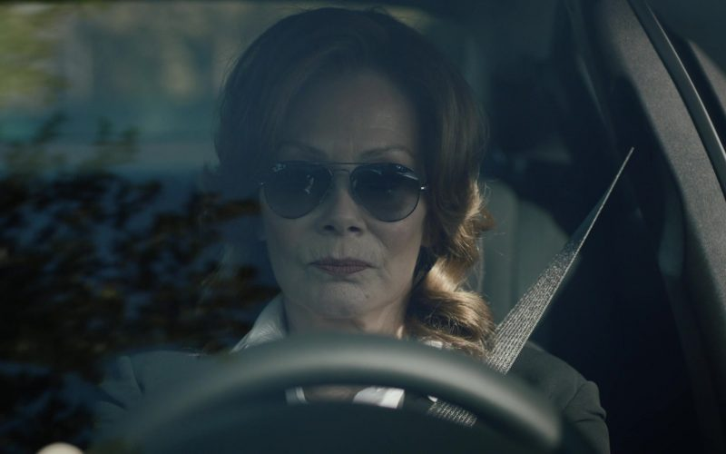 Ray-Ban P Women's Sunglasses Worn by Jean Smart as Laurie Blake in Watchmen Season 1 Episode 3 (2)