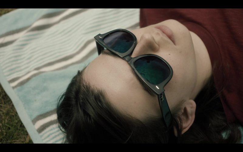 Ray-Ban Wayfarer Sunglasses in Castle Rock Season 2 Episode 5 The Laughing Place (1)