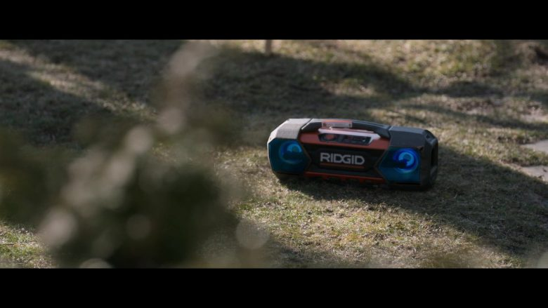 Ridgid in Holiday Rush (2019) - Movie Product Placement