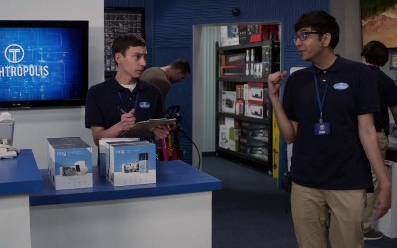 Ring Video Doorbells in Atypical Season 3 Episode 6