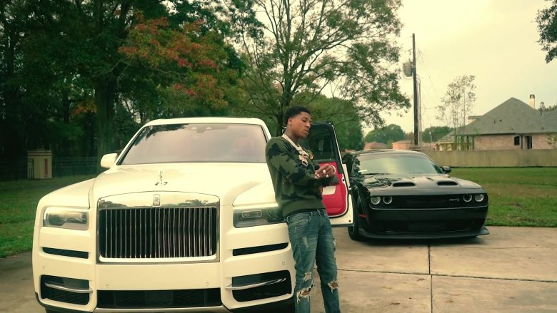 Rolls-Royce Cullinan White SUV in Lost Motives by NBA YoungBoy (2019) - Official Music Video Product Placement