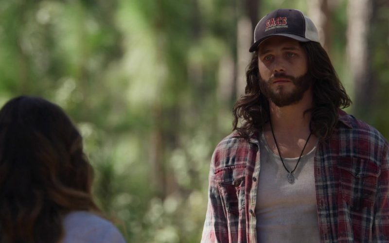 Sacs Feed & Western Store Cap Worn by Ben Robson in A Violent Separation (7)