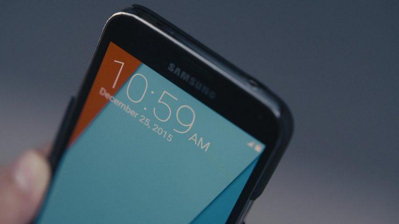 Samsung Galaxy Smartphone Used by Carly Chaikin as Darlene Alderson in Mr. Robot Season 4 Episode 5 405 Method Not Allowed