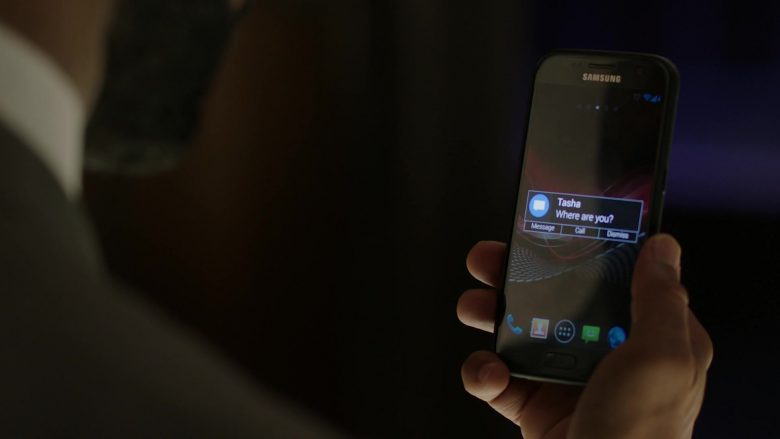 """Samsung Galaxy Smartphone Used by Omari Hardwick as James 'Ghost' St. Patrick in Power Season 6 Episode 10 """"No One Can Stop Me"""" (2019) - TV Show Product Placement"""