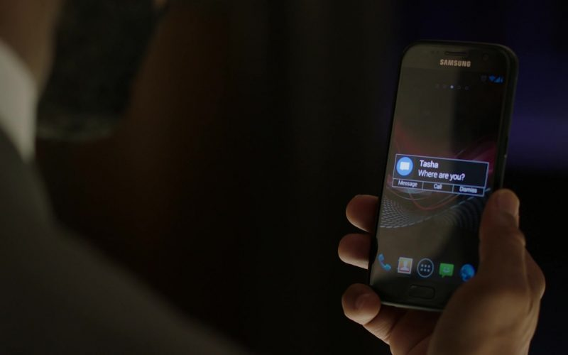 Samsung Galaxy Smartphone Used by Omari Hardwick as James 'Ghost' St. Patrick in Power Season 6 Episode 10
