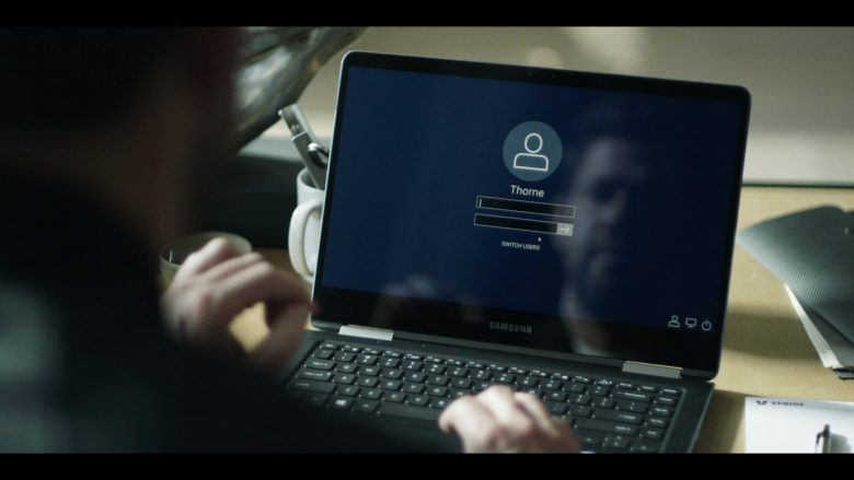 """Samsung Notebook Used by John Krasinski in Tom Clancy's Jack Ryan Season 2 Episode 5 """"Blue Gold"""" (2019) - TV Show Product Placement"""