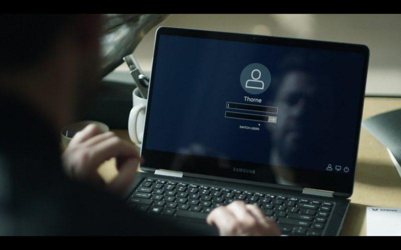 Samsung Notebook Used by John Krasinski in Tom Clancy's Jack Ryan