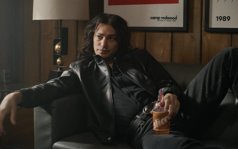 Slice Drink Enjoyed by Zach Villa as Richard Ramirez in American Horror Story Season 9 Episode 9 (1)