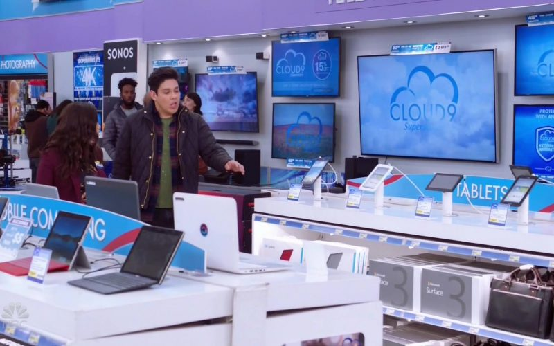 Sonos and Microsoft Surface 3 in Superstore Season 5 Episode 9