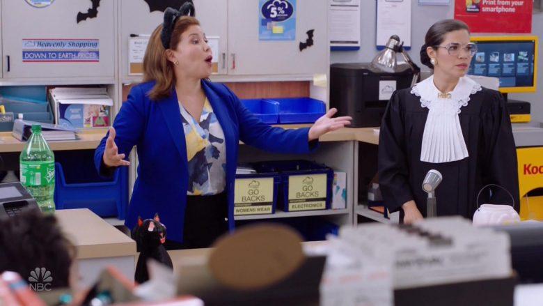 Sprite Soda Bottle in Superstore Season 5 Episode 6 Trick-or-Treat (2)