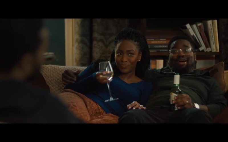 Stella Artois Beer Enjoyed by Lil Rel Howery in The Photograph (2)