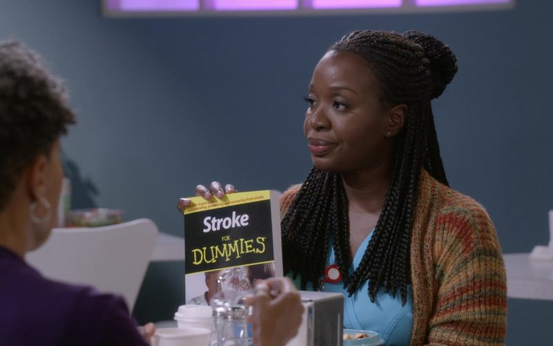 Stroke for Dummies Book in Bob Hearts Abishola Season 1 Episode 7 (1)