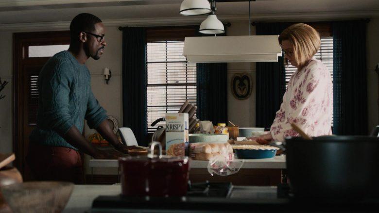 Sunshine Krispy Original Saltine Crackers in This Is Us Season 4 Episode 9 (2)
