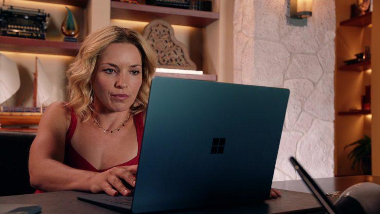 Surface Notebook Used by Perdita Weeks as Juliet Higgins in Magnum P.I. Season 2 Episode 8 (1)