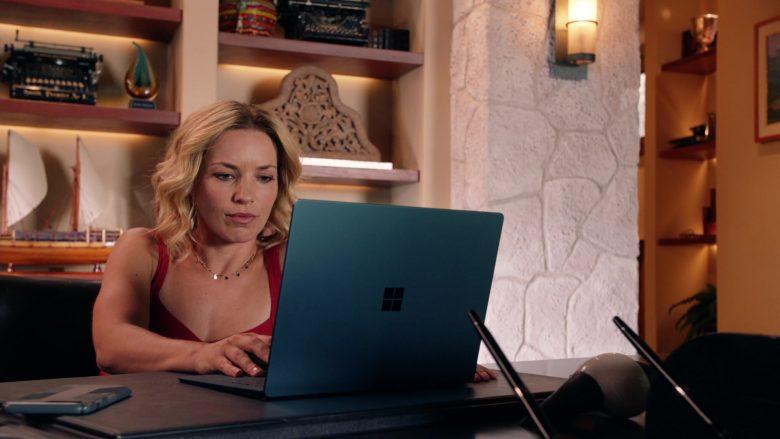 Surface Notebook Used by Perdita Weeks as Juliet Higgins in Magnum P.I. Season 2 Episode 8 (2)
