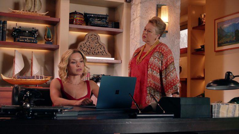 Surface Notebook Used by Perdita Weeks as Juliet Higgins in Magnum P.I. Season 2 Episode 8 (3)