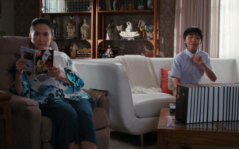 TV Guide Magazine in Fresh Off the Boat Season 6 Episode 9