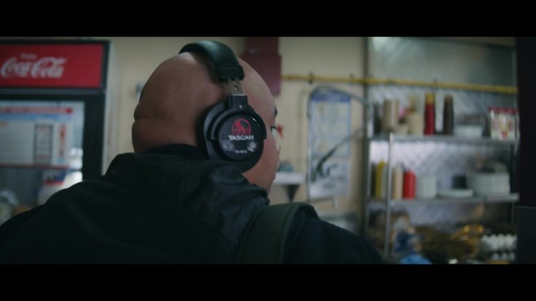 Tascam Headphones Used by Jacob Batalon and Coca-Cola Refrigerator in Let It Snow (2019) - Movie Product Placement