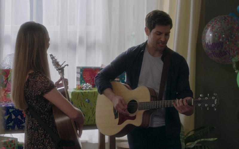 Taylor Guitars in A Million Little Things Season 2 Episode 7 Ten Years (1)