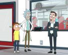 Tesla as Tuskla and Elon Musk as Elon Tusk in Rick and Morty Season 4 Episode 3 (3)