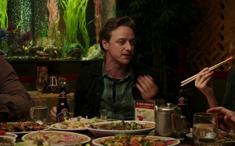 Tiger Beer Enjoyed by James McAvoy in It Chapter Two (2019)