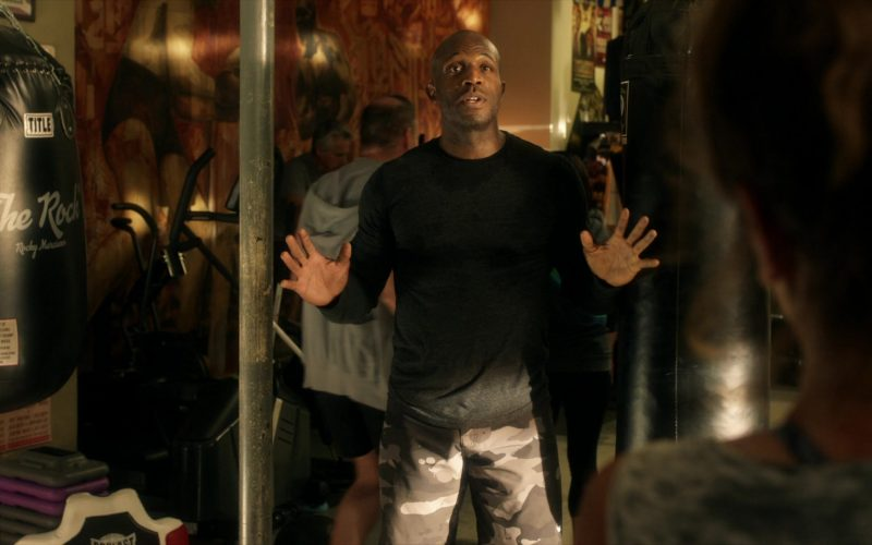 Title Boxing Punching Bag in How to Get Away with Murder Season 6 Episode 6