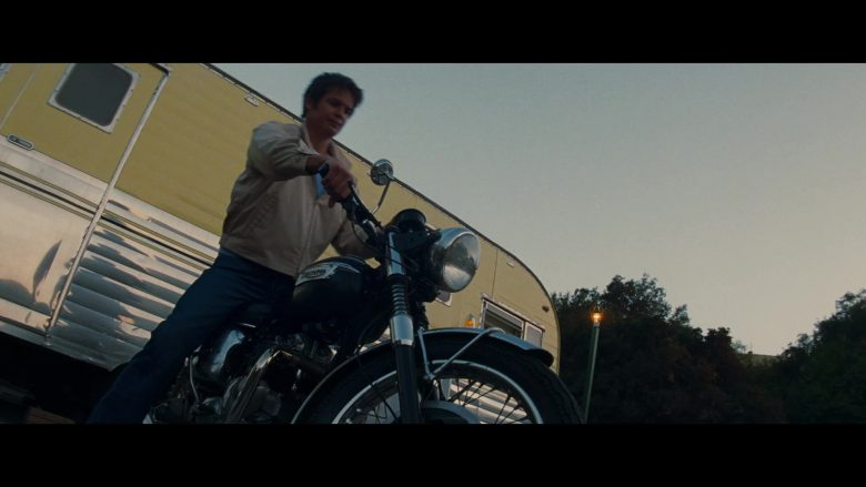 Triumph Motorcycle Used by Timothy Olyphant as James Stacy in Once Upon a Time … in Hollywood (2019)