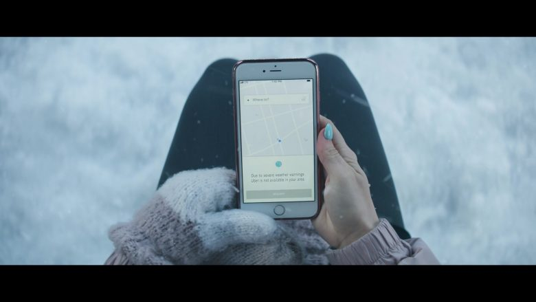 Uber in Let It Snow (2019) - Movie Product Placement