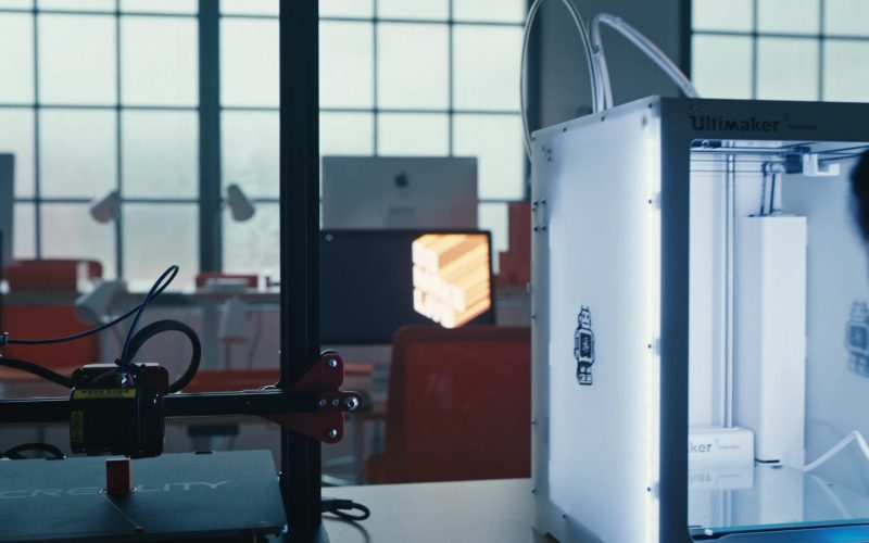 Ultimaker 3D Printer in Mr. Robot Season 4 Episode 5 405 Method Not Allowed