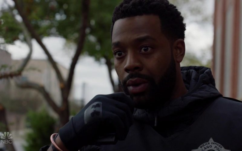 Under Armour Gloves Worn by LaRoyce Hawkins as Officer Kevin Atwater in Chicago P.D. Season 7 Episode 9