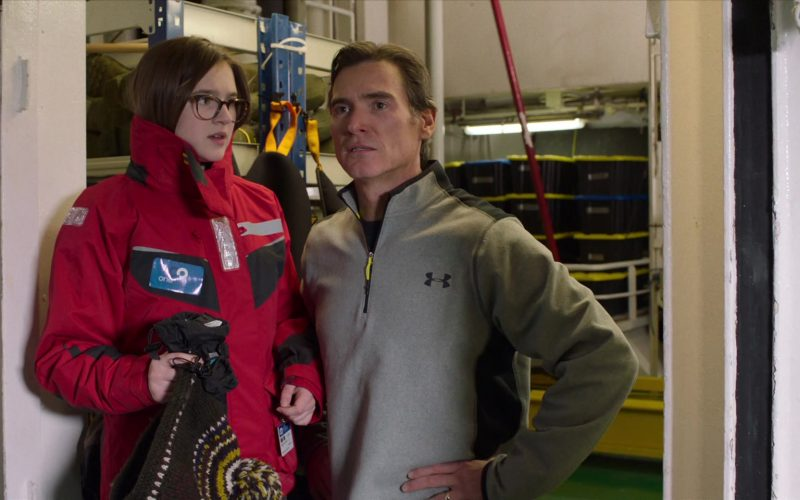 Under Armour Grey Jacket Worn by Billy Crudup as Elgin Branch in Where'd You Go, Bernadette