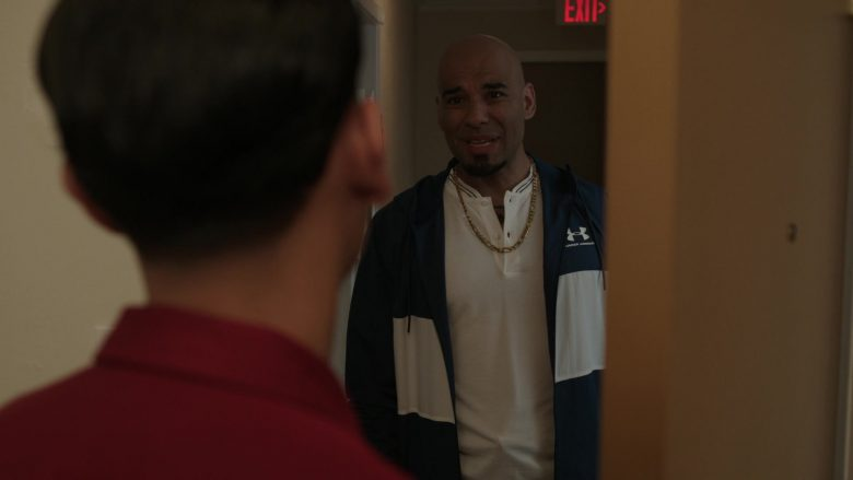 """Under Armour Men's Jacket in Get Shorty Season 3 Episode 7 """"Should Not Throw Stones"""" (2019) - TV Show Product Placement"""
