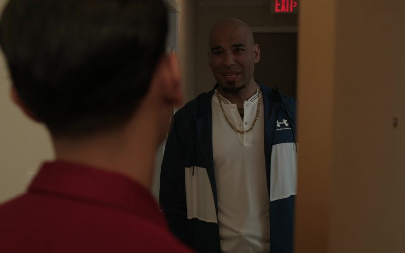Under Armour Men's Jacket in Get Shorty Season 3 Episode 7