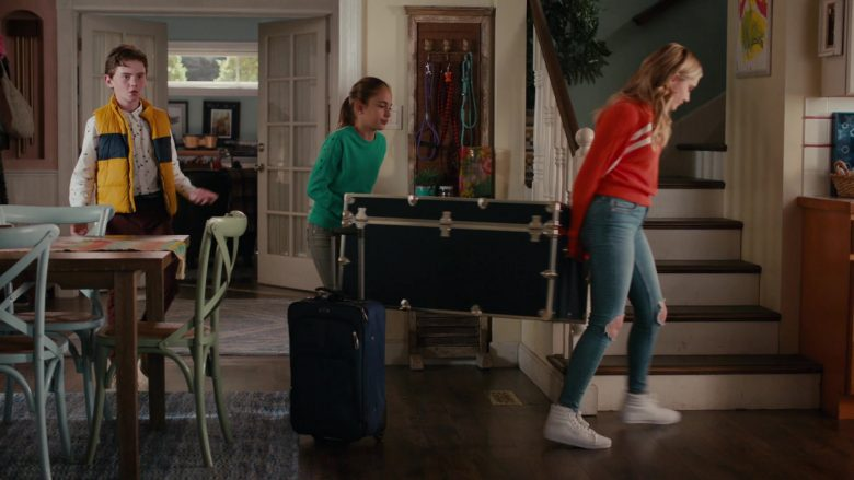 Vans Shoes Worn by Meg Donnelly as Sweetheart 'Taylor' Otto in American Housewife Season 4 Episode 7 (2)