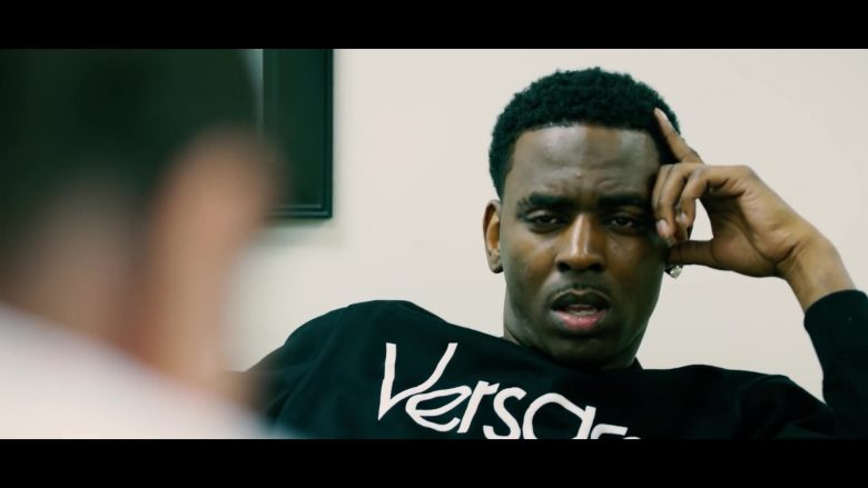 Versace Sweatshirt Worn by Young Dolph in Tric Or Treat (2019) - Official Music Video Product Placement