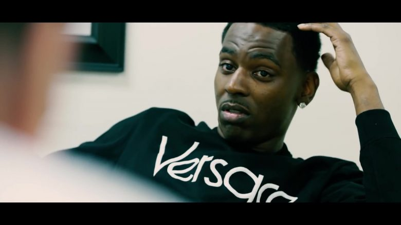 Versace Sweatshirt Worn by Young Dolph in Tric Or Treat (3)