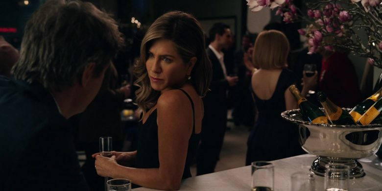 Veuve Clicquot Champagne Enjoyed by Jennifer Aniston as Alex Levy in The Morning Show Season 1 Episode 5 (2019) - TV Show Product Placement