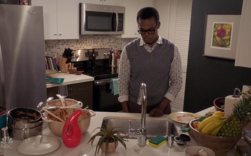 Whirlpool Refrigerator in The Good Place Season 4 Episode 9 The Answer