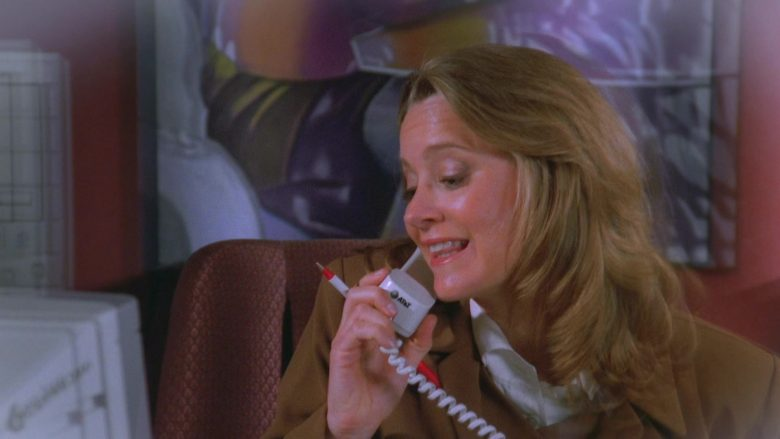AT&T Phone Used by Heidi Swedberg as Susan Ross in Seinfeld Season 7 Episode 9 The Sponge