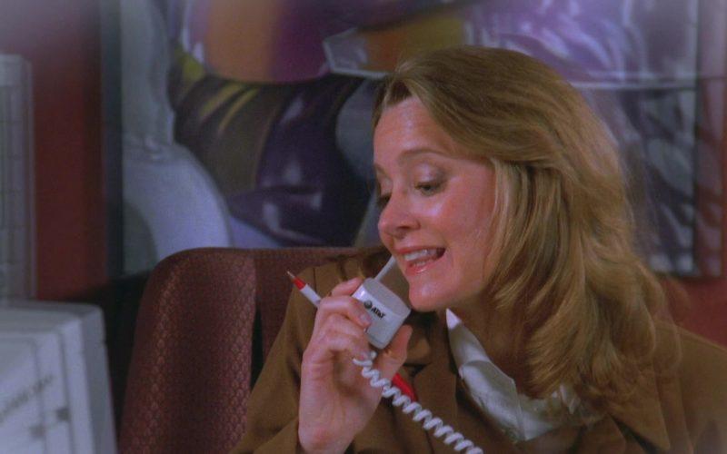 AT&T Phone Used by Heidi Swedberg as Susan Ross in Seinfeld Season 7 Episode 9 The Sponge