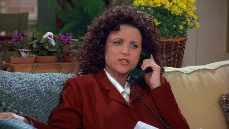 AT&T Phone Used by Julia Louis-Dreyfus as Elaine Benes in Seinfeld Season 8 Episode 18 The Nap (1)