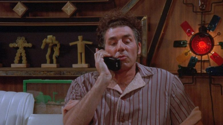 AT&T Phone Used by Michael Richards as Cosmo Kramer in Seinfeld Season 9 Episode 22 The Clip Show (1)
