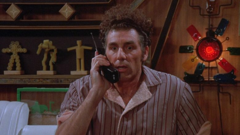 AT&T Phone Used by Michael Richards as Cosmo Kramer in Seinfeld Season 9 Episode 22 The Clip Show (2)