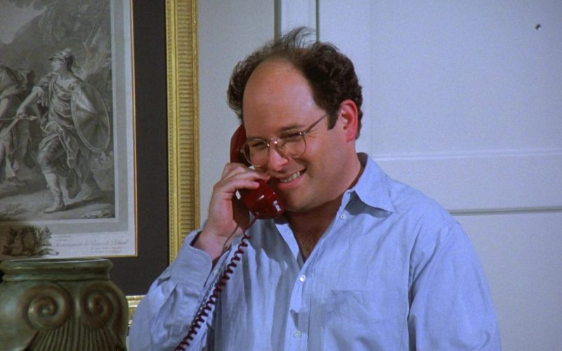 AT&T Telephone Used by Jason Alexander as George Costanza in Seinfeld Season 7 Episode 23 (1)