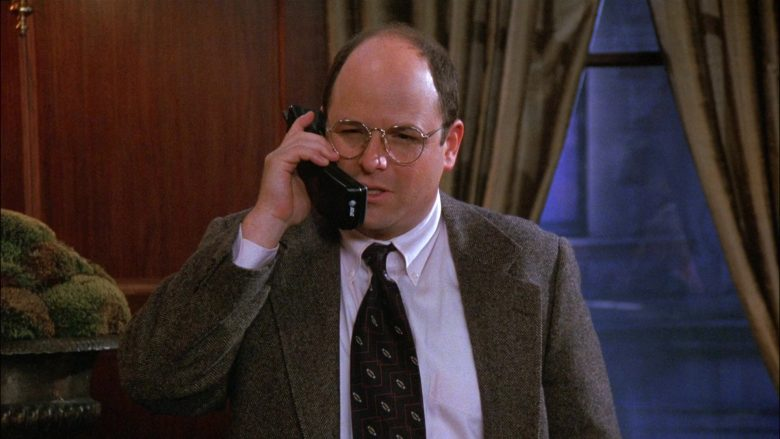 AT&T Telephone Used by Jason Alexander as George Costanza in Seinfeld Season 8 Episode 1 The Foundation (1)
