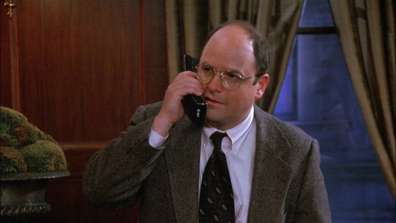 AT&T Telephone Used by Jason Alexander as George Costanza in Seinfeld Season 8 Episode 1 The Foundation (2)
