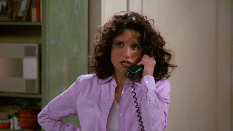 AT&T Telephone Used by Julia Louis-Dreyfus as Elaine Benes in Seinfeld Season 9 Episode 19 The Maid (2)
