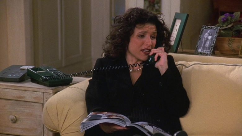 AT&T Telephone Used by Julia Louis-Dreyfus as Elaine Benes in Seinfeld Season 9 Episode 19 The Maid (3)