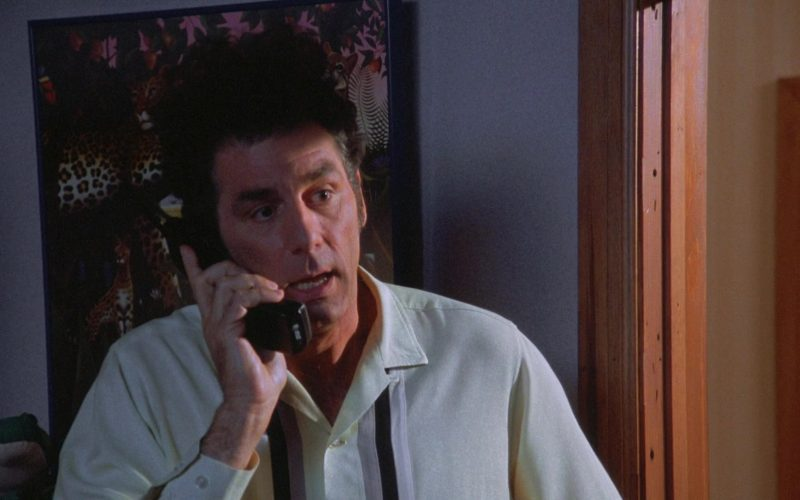 AT&T Telephone Used by Michael Richards as Cosmo Kramer in Seinfeld Season 7 Episode 23 The Wait Out